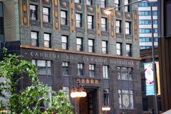 Karbid-und Kohlenstoff-Gebäude-Stadtzentrum Chicago, IL stockfotografie