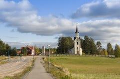 Karbole教会瑞典 免版税库存图片