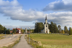 Karbole church Sweden Royalty Free Stock Images