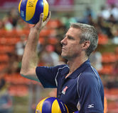 Karch Kiraly head coach of USA Royalty Free Stock Images