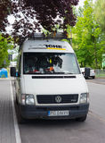 Karcher bus Stock Photo