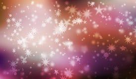 karciana bożych narodzeń projekta płatków śniegów miś pluszowy zabawka Zdjęcia Stock