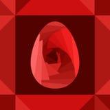 karciana jajeczna czerwień Zdjęcie Royalty Free