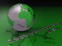 karciana kredytowa globalna ilustracja royalty ilustracja