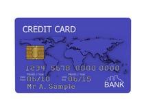 karciana kredytowa ilustracja Zdjęcia Royalty Free