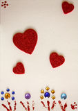 karciana miłość Obraz Royalty Free