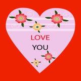 karciana miłość ty Obraz Royalty Free