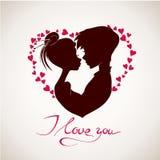 karcianego dzień szczęśliwy s valentine wektor Fotografia Stock