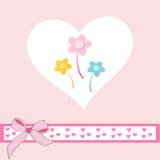 karcianego dzień eps10 powitania ilustracyjny s valentine wektor Zdjęcie Stock