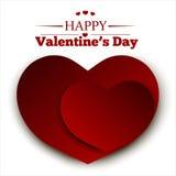 karcianego dzień ilustracyjny s valentine Zdjęcia Royalty Free