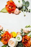 karcianego projekta kwiecista ilustracja twój Fotografia Stock