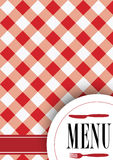 karcianego projekta menu Obrazy Royalty Free