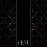 karcianego projekta menu ilustracji