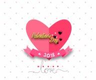 karcianej dzień projekta dreamstime zieleni kierowa ilustracja s stylizował valentine wektor Serce dla walentynki ` s dnia Obraz Royalty Free