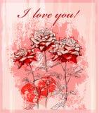 karciani dzień powitania valentines ilustracja wektor