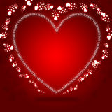 karciani dzień powitania valentines royalty ilustracja