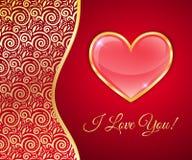 karciani dzień powitania valentines Obraz Stock