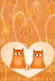 karciani koty Zdjęcie Royalty Free