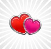 karciani valentines Zdjęcie Royalty Free