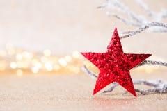 karciany bożego narodzenia powitanie Świąteczna dekoracja na bokeh tle koncepcja nowego roku kosmos kopii Mieszkanie nieatutowy O obraz royalty free