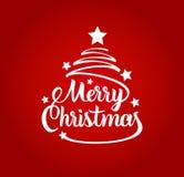 karciany bożego narodzenia powitanie Wesoło Bożych Narodzeń target682_1_ również zwrócić corel ilustracji wektora Fotografia Royalty Free