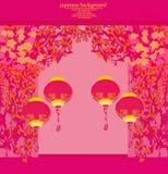 karciany chiński nowy rok Zdjęcie Stock