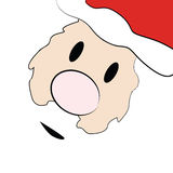 karciany Claus Santa Fotografia Stock
