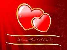 karciany dzień s valentine ślub ilustracji