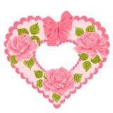 karciany dzień powitania illustratio s valentine wektor Obraz Royalty Free