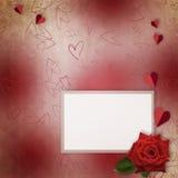 karciany dzień powitania s st valentine Zdjęcie Royalty Free