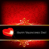 karciany dzień powitania s valentine Zdjęcie Royalty Free