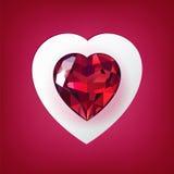 karciany dzień powitania s valentine Ilustracji