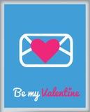 karciany dzień powitania s valentine Fotografia Stock