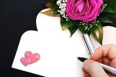 karciany dzień prezenta s valentine Zdjęcia Stock