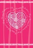 karciany dzień s valentine wektor Zdjęcia Royalty Free