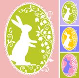 karciany Easter ilustracja wektor