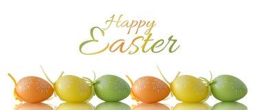 karciany Easter jajka ilustracyjny królika wektor Obrazy Royalty Free