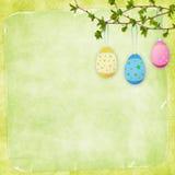 karciany Easter jajka wakacje Zdjęcie Royalty Free