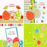 karciany Easter powitania szablon Obraz Royalty Free