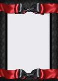 karciany goth zaproszenia menu Fotografia Royalty Free
