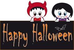 karciany Halloween Zdjęcie Royalty Free