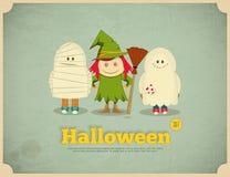 karciany Halloween Zdjęcia Royalty Free