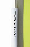 karciany joker Obraz Stock