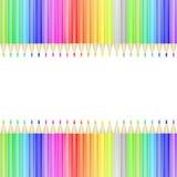 karciany kolorowy ołówek Zdjęcia Royalty Free