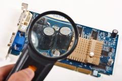 karciany komputerowy wideo Zdjęcia Stock