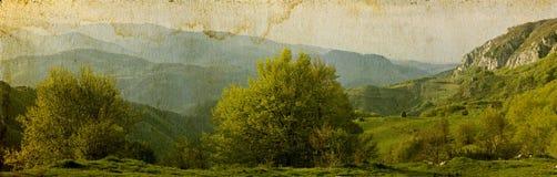 karciany krajobrazowy rocznik Zdjęcie Royalty Free