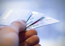 karciany kredyt zdjęcie royalty free