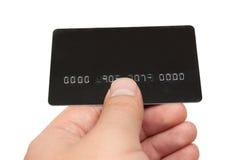 karciany kredyt Zdjęcie Stock