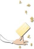 karciany kredyt Obraz Stock