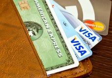 karciany kredyt s Obraz Stock